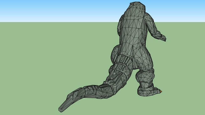Godzilla body
