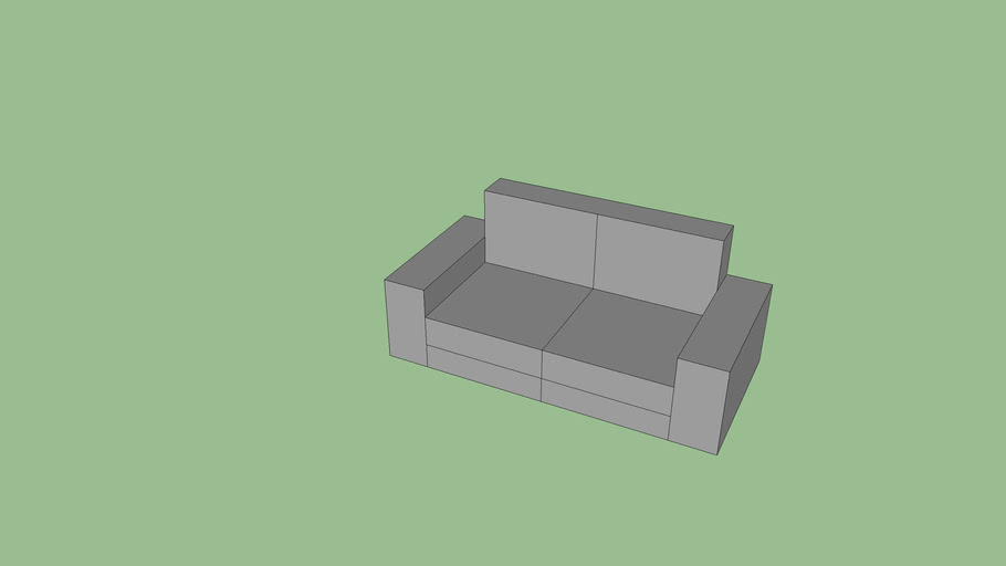 IKEA Kivik 2 seats sofa