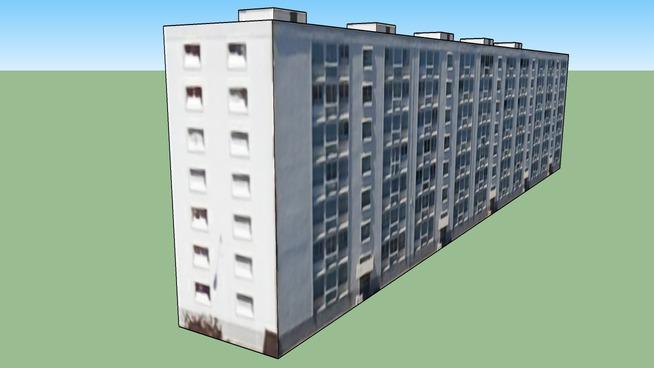 Immeuble d'habitation, 10-18 rue de l'égalité, Vaulx-en-Velin, France