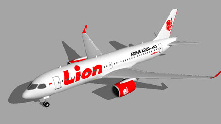 Lion Air Airbus A220-300