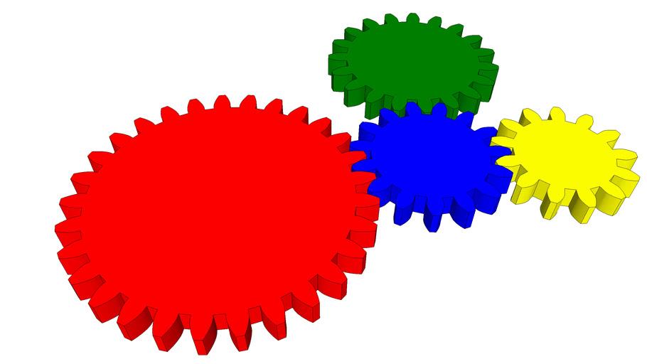 Engrenages - Pignons - Gear - Зубчатая передача