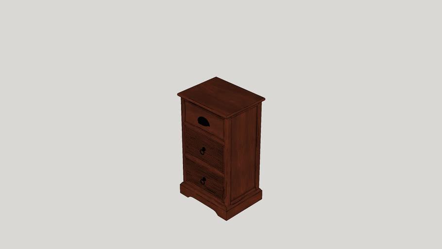 Belmore 3 Drawer Storage Cabinet