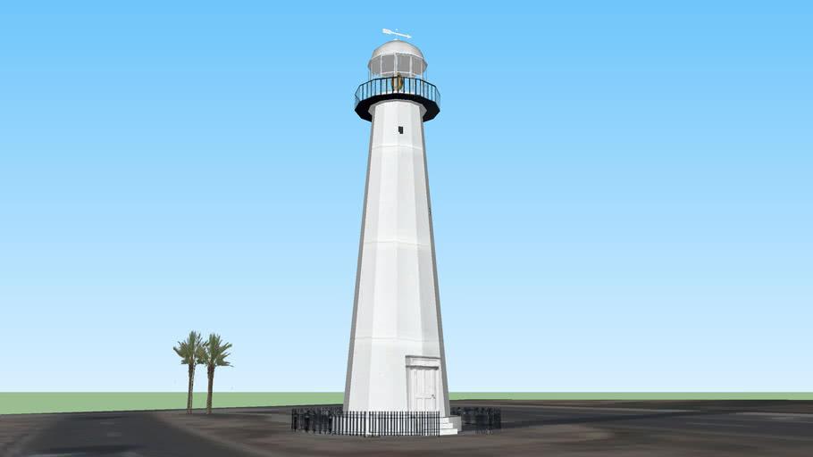 Biloxi Lighthouse 3d Warehouse