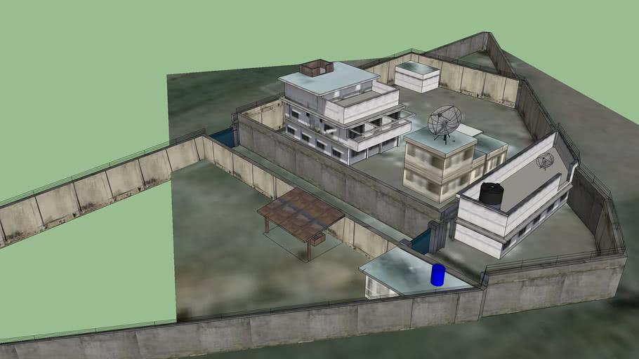 Osama Bin Laden's House in Abbottabad, Pakistan