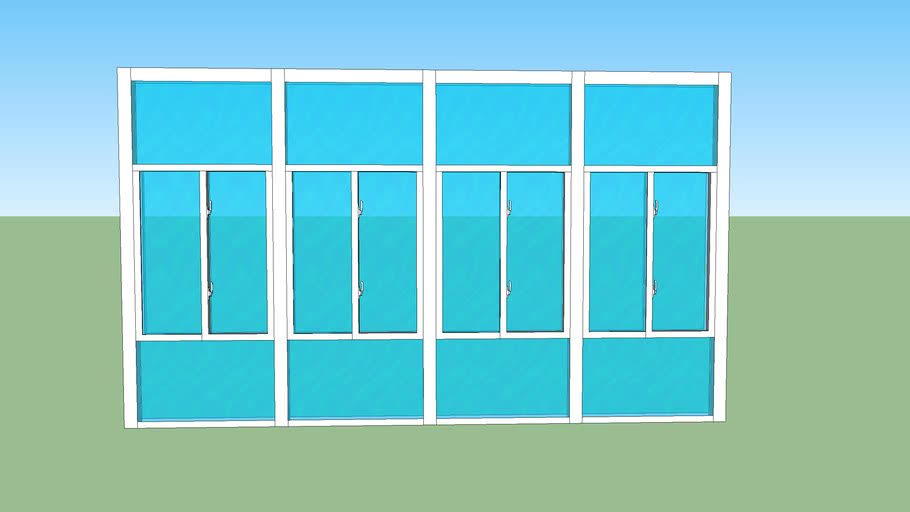 9x16 front wall glass
