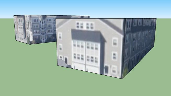 Budova na adrese Cambridge, Massachusetts, Spojené státy americké