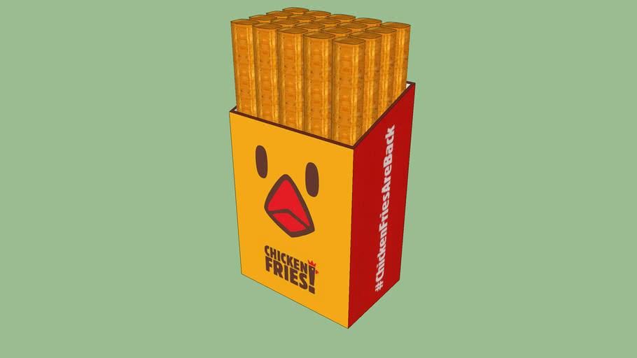 Burger King's Chicken fries