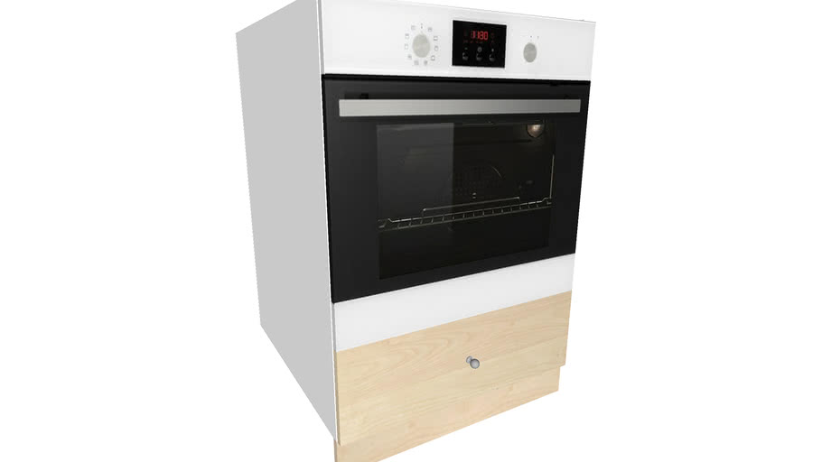 BASE CABINET FOR OVEN