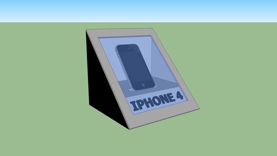 caja para un Iphone 4, 4S.