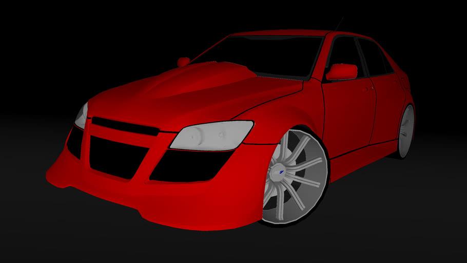 Modified Lexus IS200