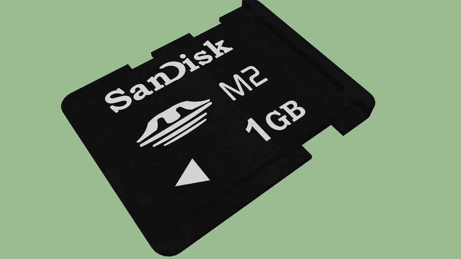 Sandisk MemoryStick Micro M2 1GB