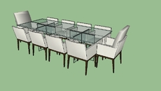Mesas completas ( com cadeiras)
