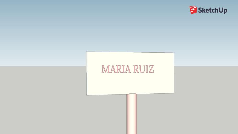MARIA ISABEL RUIZ