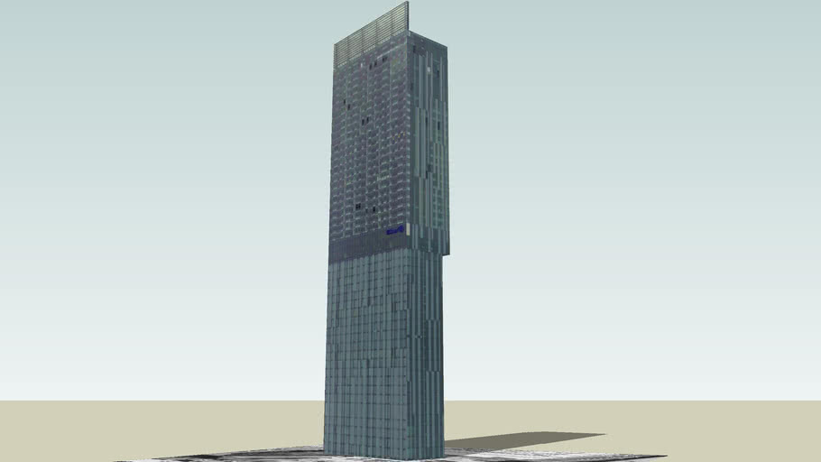 Beetham Tower, Manchester, UK