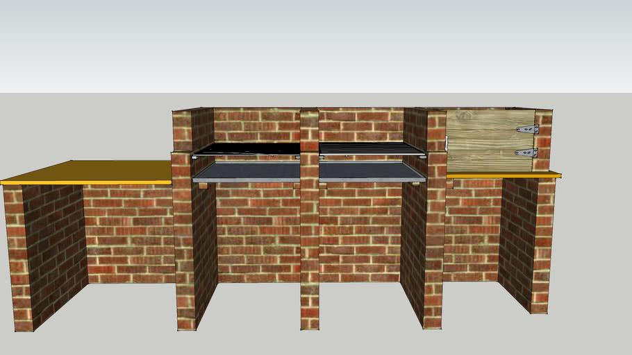 Brick Built Bbq Warehouse