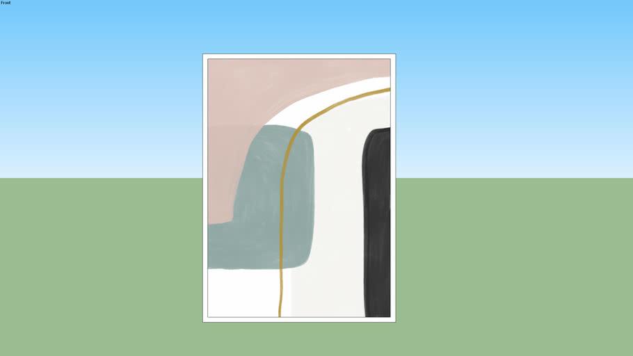 Quadro Modern Shapes 05 - Rachel Moya