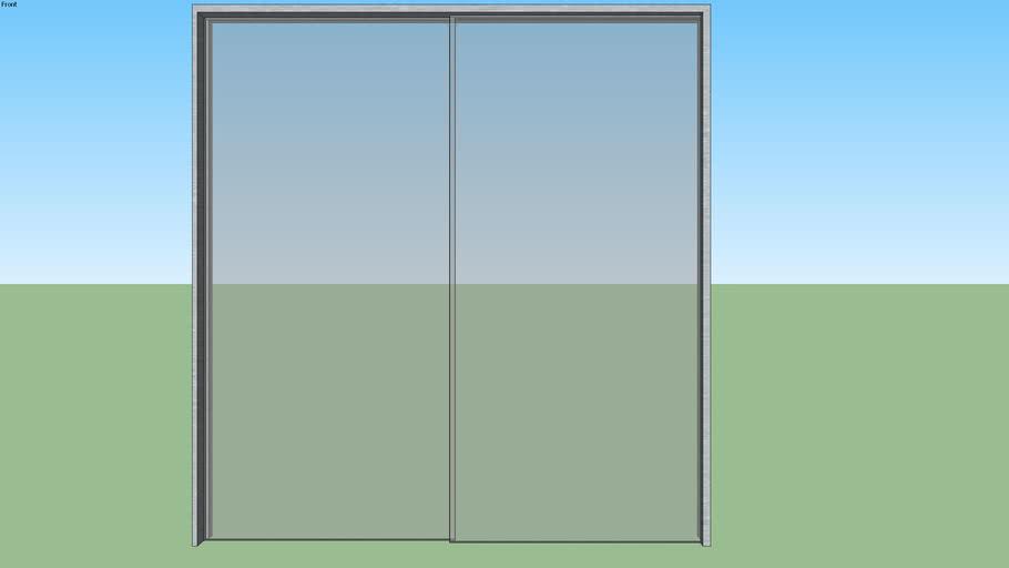 Porta de Correr 2F 2x2,10