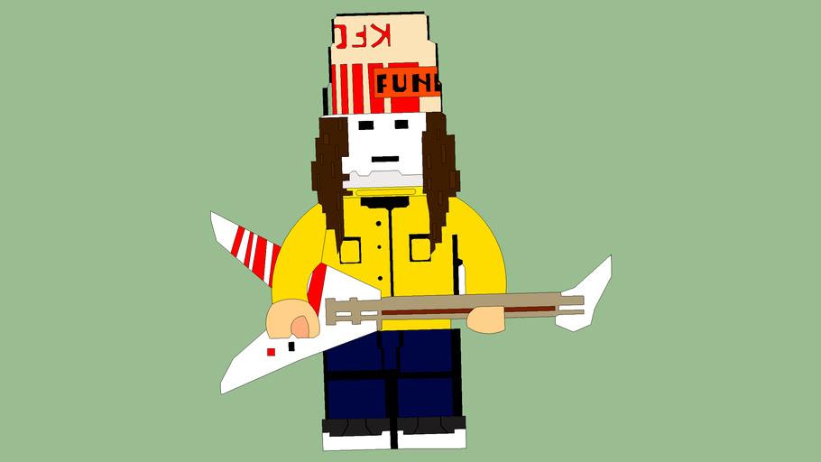 Lego Buckethead