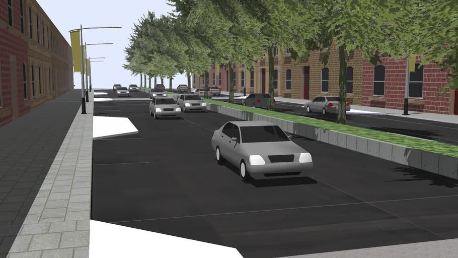 A busy Street in Mattville