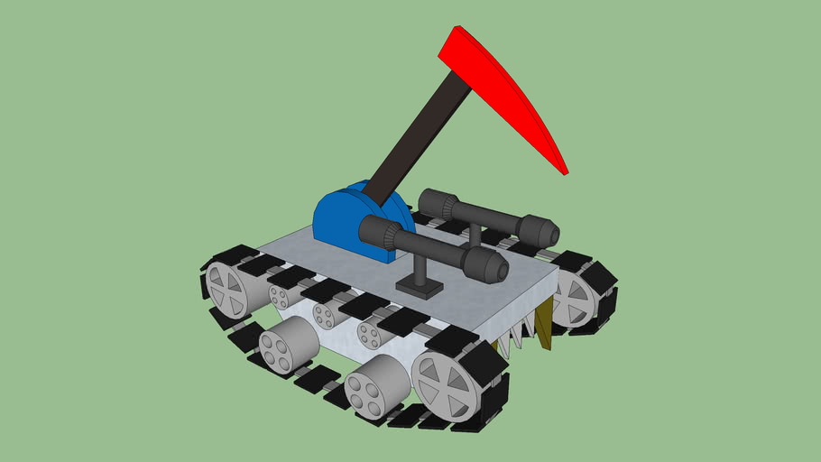 battle robot with tracks