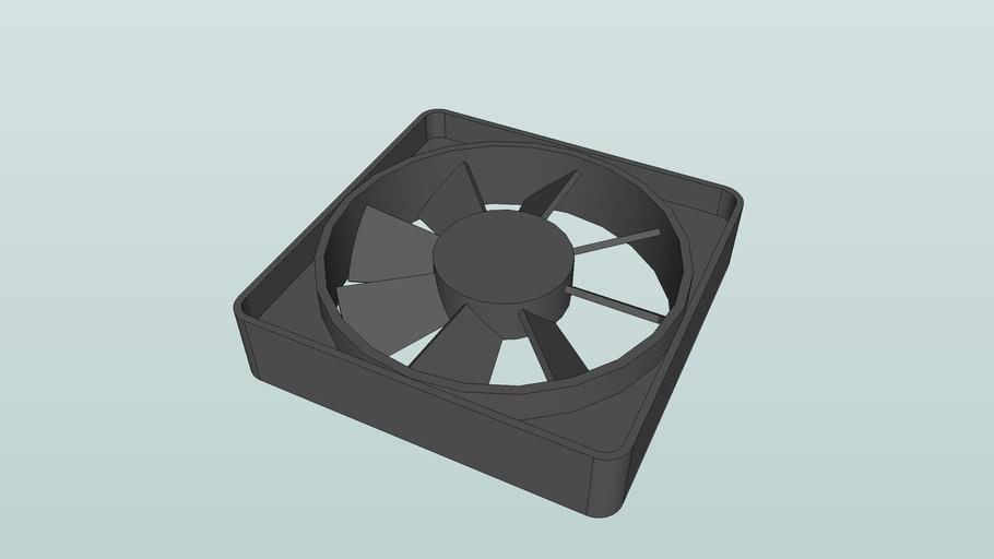 AC or DC Muffin fan 70x70x15mm
