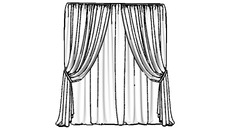 BEDROOM/CURTAINS NOT MY CREATION