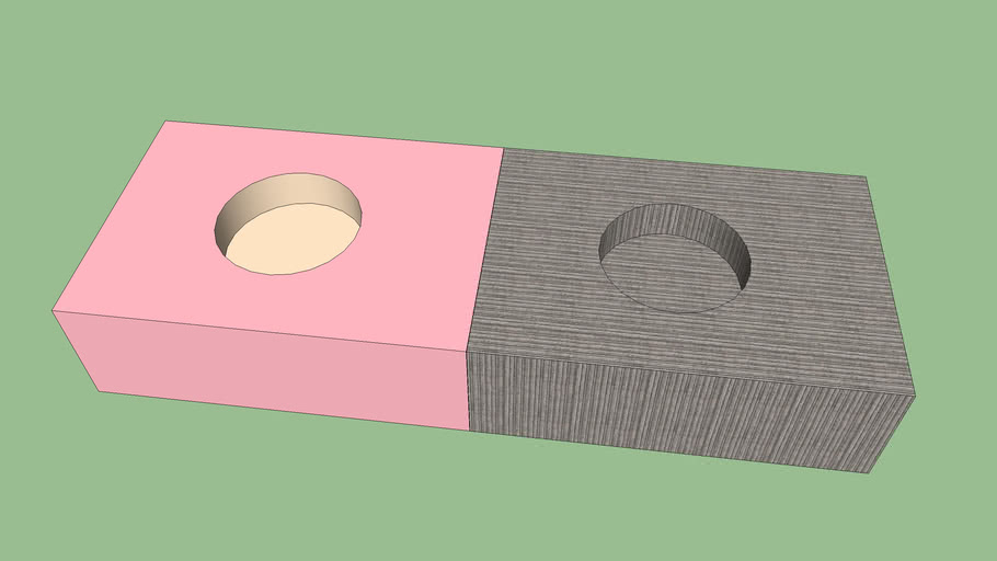 pink and concrete box