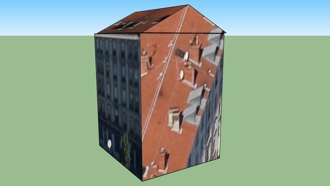 Building in Lyon, France