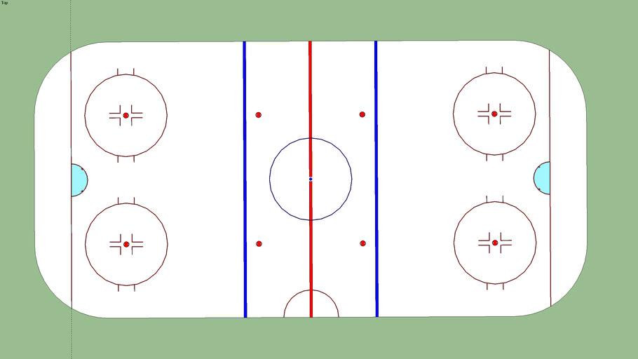IIHF Ice paiting