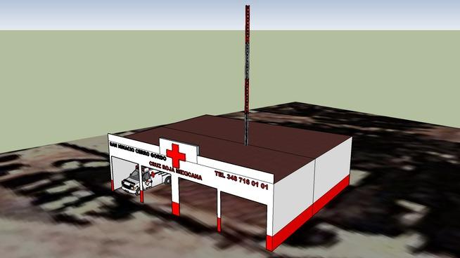 base cecom cruz roja mexicana delegacion san ignacio cerro gordo jalisco
