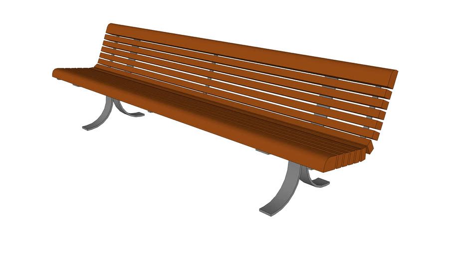 "Balustrade 96"" Bench"