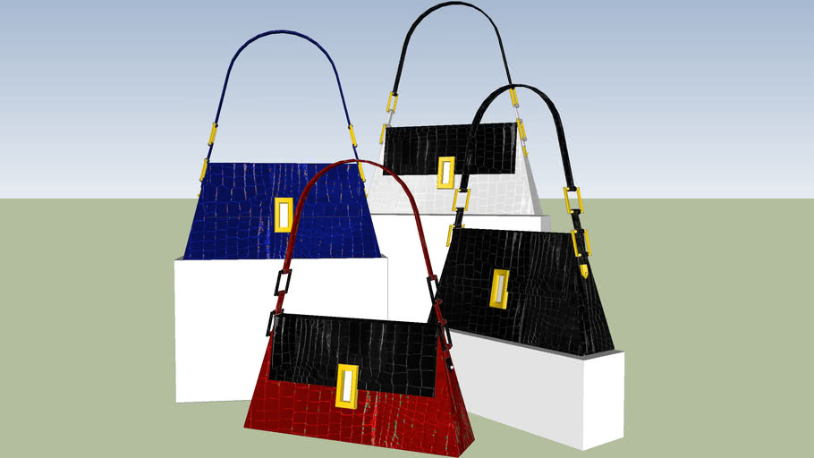 Collection of Leather Handbags