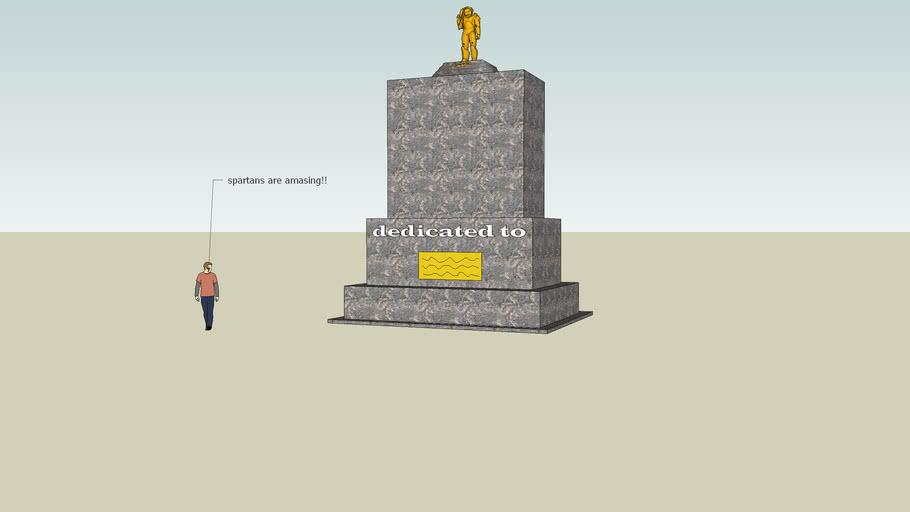 spartan war memorial