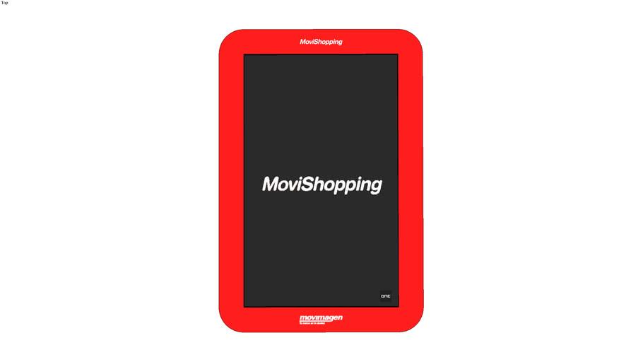 "MoviShopping 46"" Vertical"