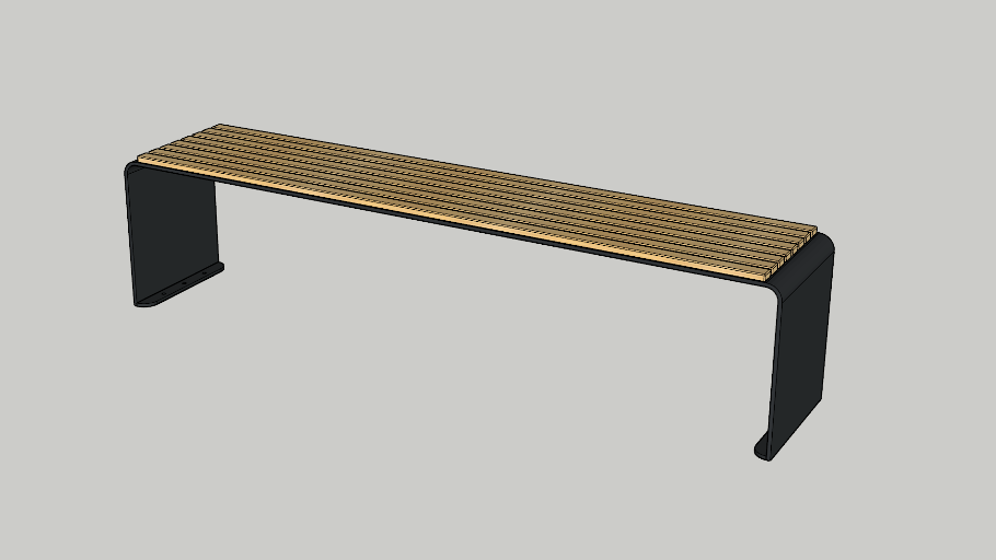 Lucid Bench Backless - Decona