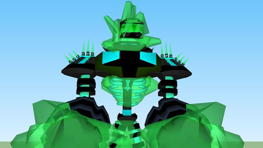 3D venepätt - Ghosterbakka