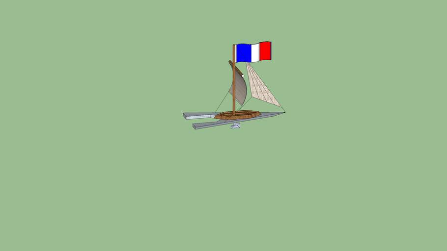 Французкая яхта