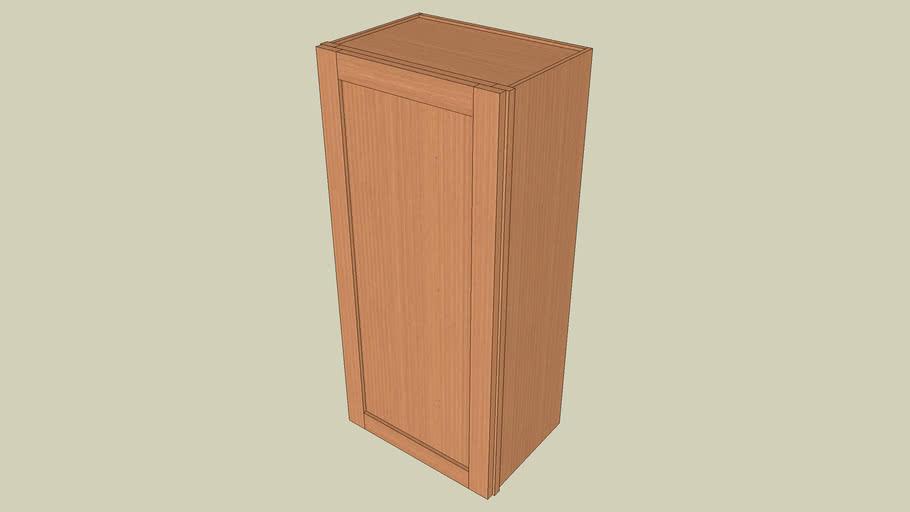 Wall_Cabinet_1Door_39Hx18Wx12D_shaker