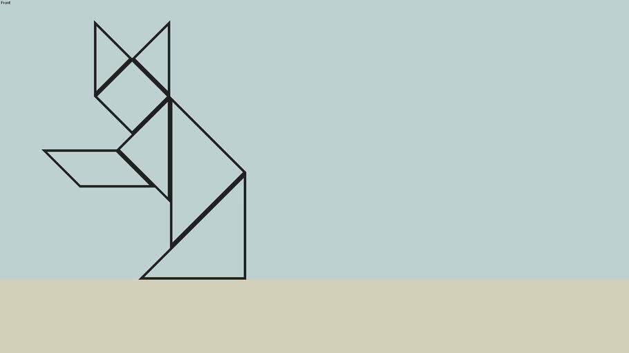 Estanteria LAGO mod: Tangram