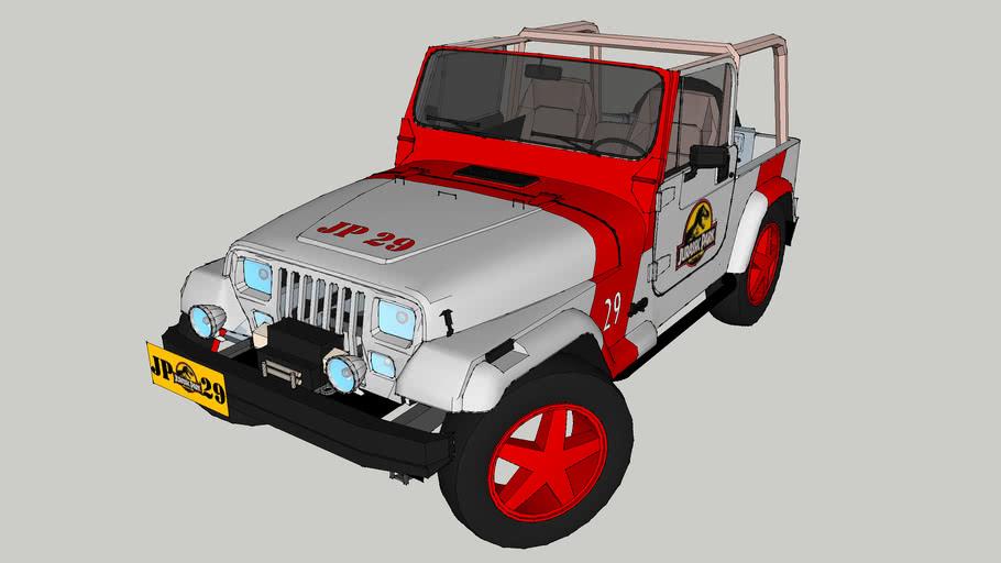 Jurassic Park Jeep Wrangler #29