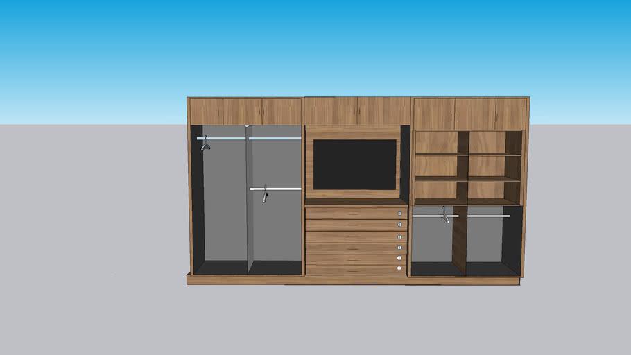 tv cabinet brite wood