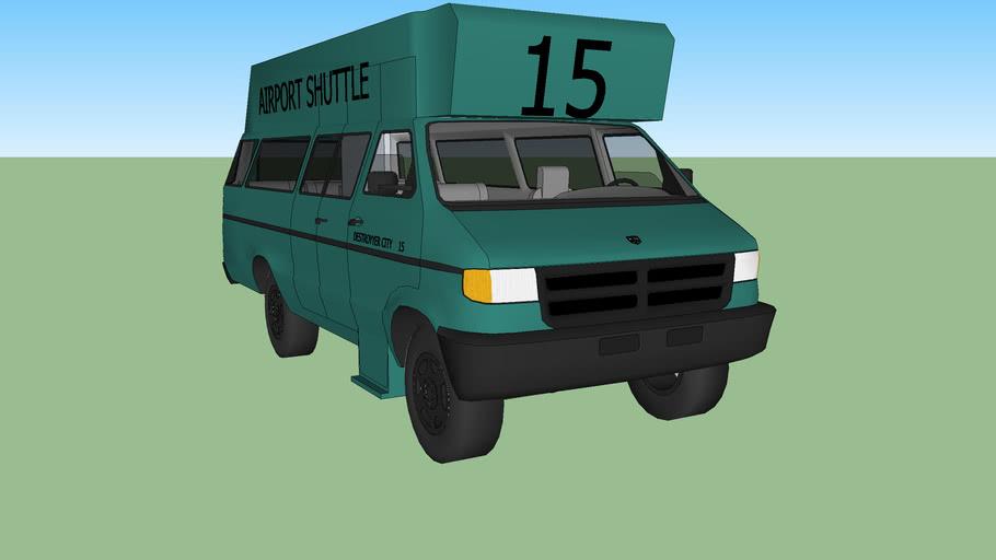 2002 Dodge RAM Wagon 3500 airport shuttle (handicap) #15