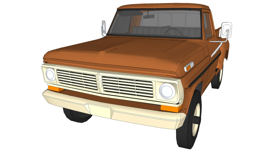 FORD F 100 1968