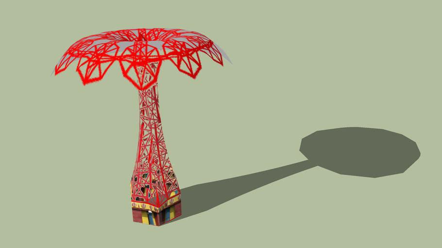 Parachute Ride - Coney Island