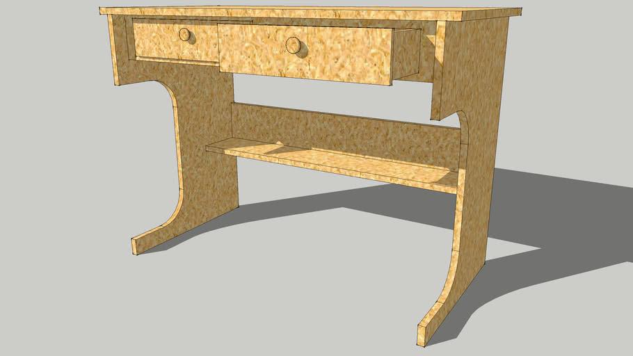 19mmの板で作った机