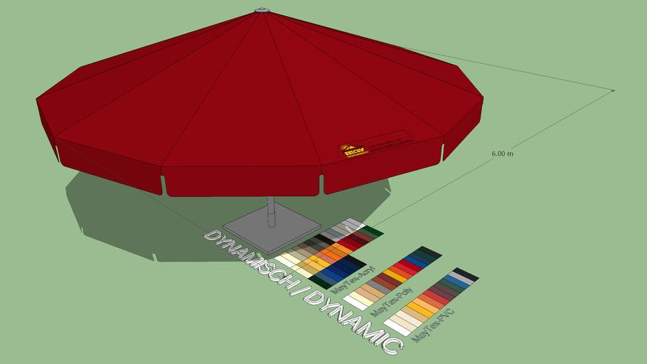 May Albatros 6m Round Giant Umbrella