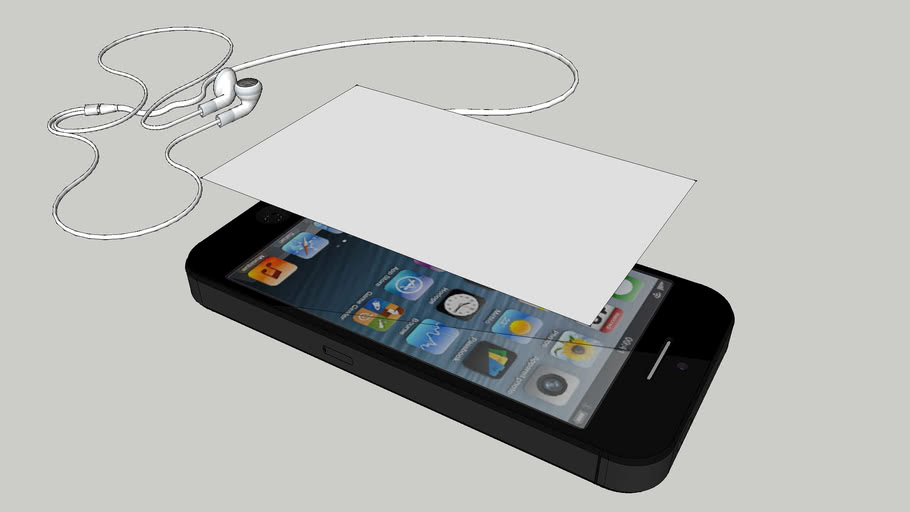 Iphone 4S w/Headphone