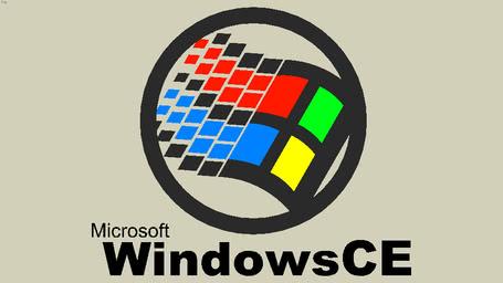 Microsoft windows logo 2000 2001 3d warehouse windows ce logo 1996 2001 publicscrutiny Gallery