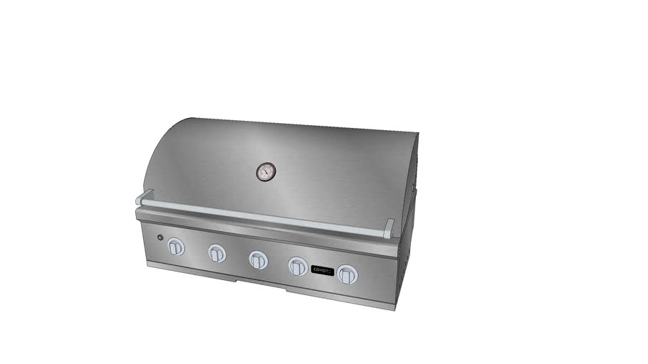 42″ C-Series Grill - Coyote Outdoor Living, Inc.   3D ... on Coyote Outdoor Living Inc id=88185