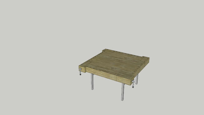 """Wood working bench höyläpenkki """"Kuokkala"""""""